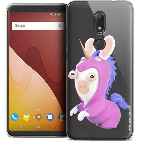 """Crystal Gel Wiko View PRIME (5.7"""") Case Lapins Crétins™ Licorne"""