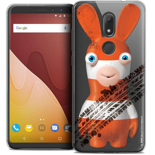 """Crystal Gel Wiko View PRIME (5.7"""") Case Lapins Crétins™ On the Road"""