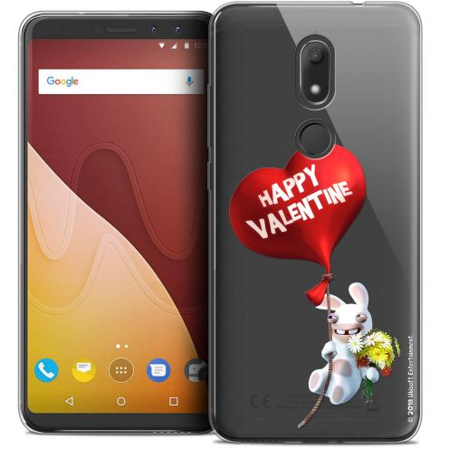"""Crystal Gel Wiko View PRIME (5.7"""") Case Lapins Crétins™ Valentin Crétin"""
