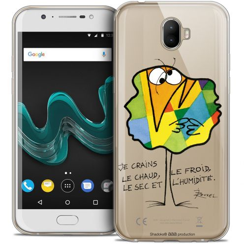 """Extra Slim Crystal Gel Wiko Wim (5.5"""") Case Les Shadoks® Chaud ou Froid"""
