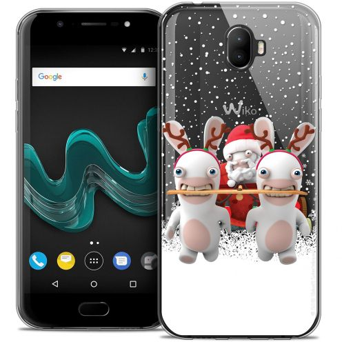 """Crystal Gel Wiko Wim (5.5"""") Case Lapins Crétins™ Lapin Traineau"""