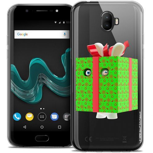 "Crystal Gel Wiko Wim (5.5"") Case Lapins Crétins™ Lapin Surprise Vert"