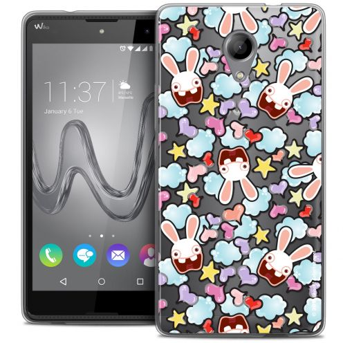 Crystal Gel Wiko Robby Case Lapins Crétins™ Love Pattern