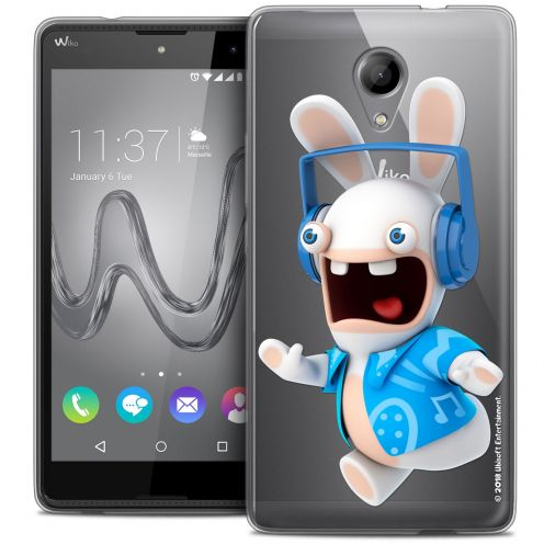 Crystal Gel Wiko Robby Case Lapins Crétins™ Techno Lapin