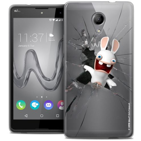 Crystal Gel Wiko Robby Case Lapins Crétins™ Breaking Glass