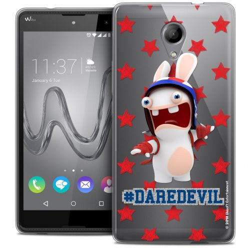 Crystal Gel Wiko Robby Case Lapins Crétins™ Dare Devil