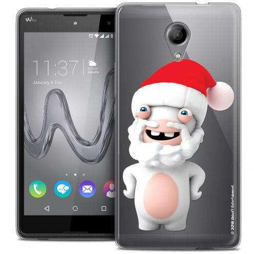 Crystal Gel Wiko Robby Case Lapins Crétins™ Lapin Noël