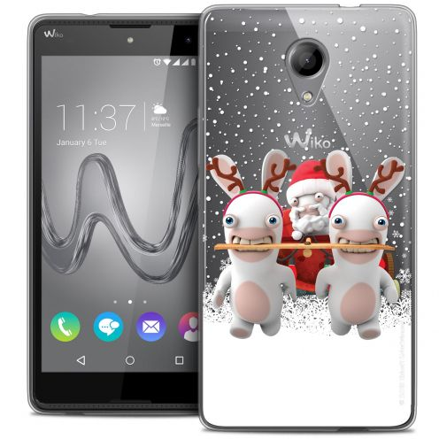 Crystal Gel Wiko Robby Case Lapins Crétins™ Lapin Traineau
