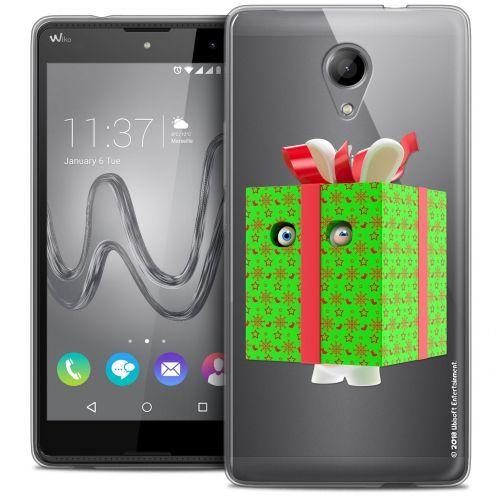 Crystal Gel Wiko Robby Case Lapins Crétins™ Lapin Surprise Vert