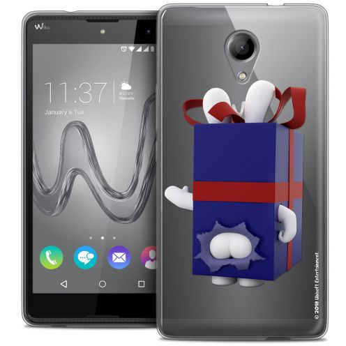 Crystal Gel Wiko Robby Case Lapins Crétins™ Lapin Surprise Bleu