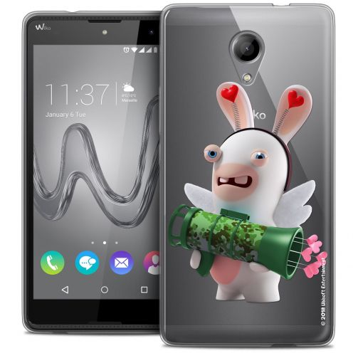 Crystal Gel Wiko Robby Case Lapins Crétins™ Cupidon Soldat