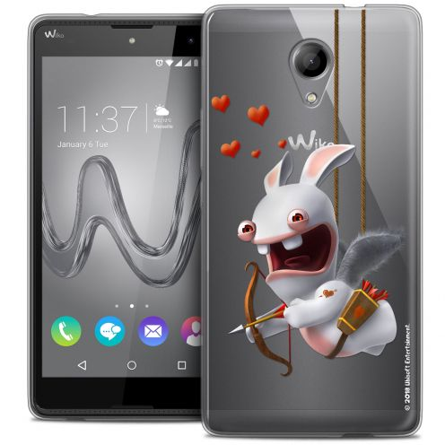 Crystal Gel Wiko Robby Case Lapins Crétins™ Flying Cupidon