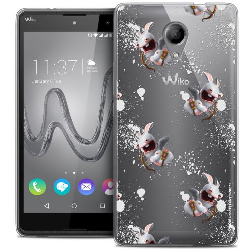 Crystal Gel Wiko Robby Case Lapins Crétins™ Cupidon Pattern