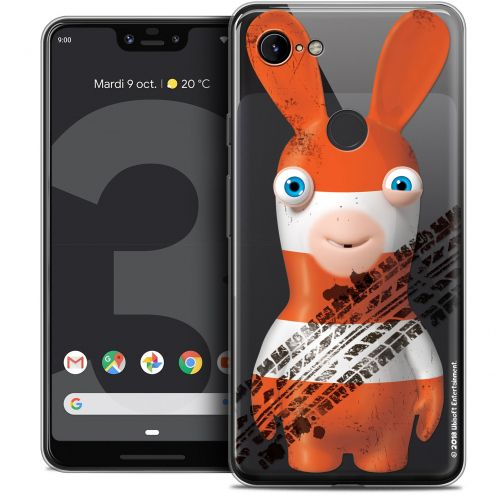 "Crystal Gel Google Pixel 3 XL (6.3"") Case Lapins Crétins™ On the Road"
