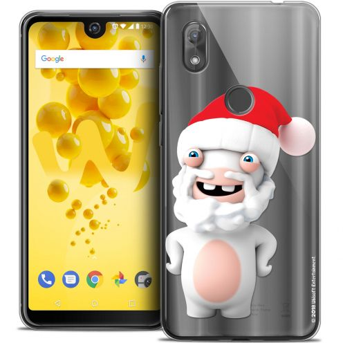 "Crystal Gel Wiko View 2 (6.0"") Case Lapins Crétins™ Lapin Noël"