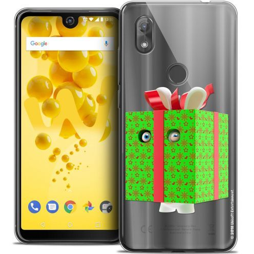 "Crystal Gel Wiko View 2 (6.0"") Case Lapins Crétins™ Lapin Surprise Vert"