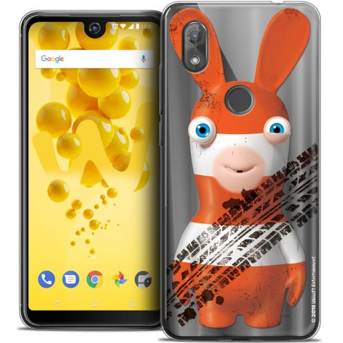 """Crystal Gel Wiko View 2 (6.0"""") Case Lapins Crétins™ On the Road"""