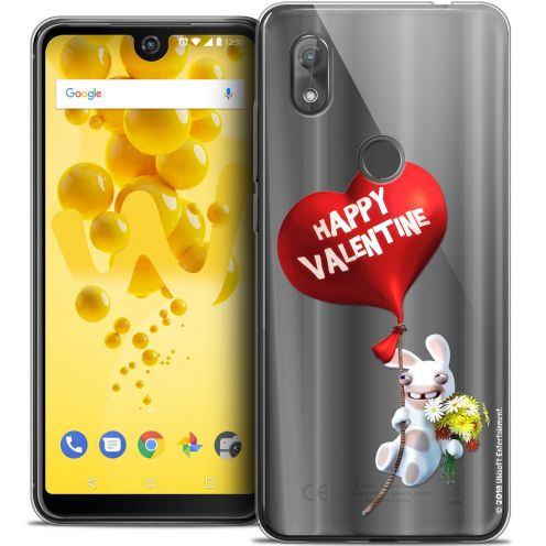 "Crystal Gel Wiko View 2 (6.0"") Case Lapins Crétins™ Valentin Crétin"