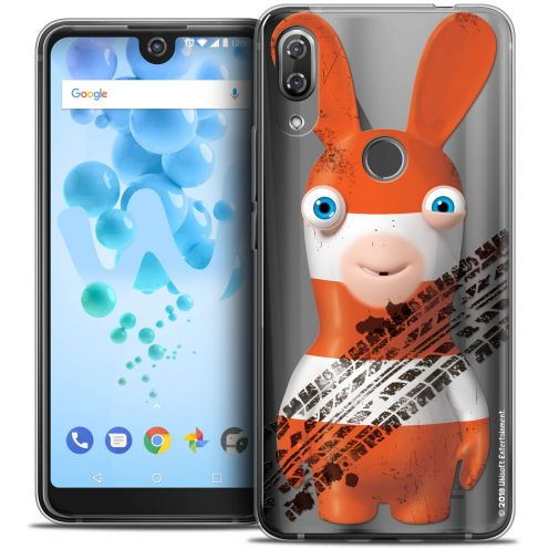 "Crystal Gel Wiko View 2 PRO (6.0"") Case Lapins Crétins™ On the Road"