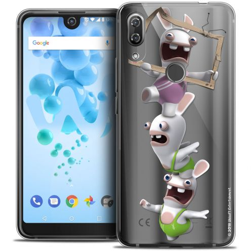 "Crystal Gel Wiko View 2 PRO (6.0"") Case Lapins Crétins™ TV Sport"