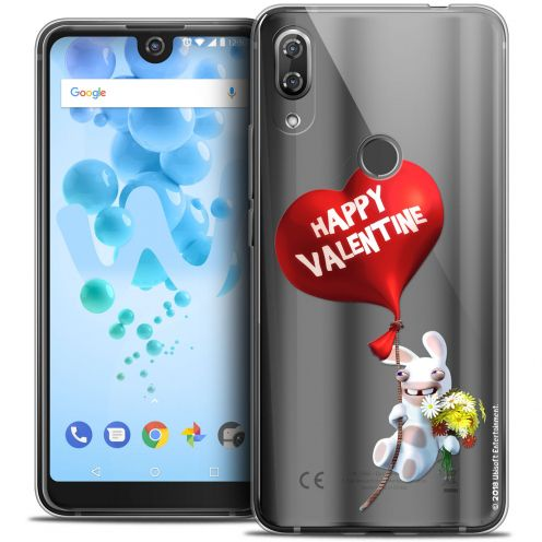 """Crystal Gel Wiko View 2 PRO (6.0"""") Case Lapins Crétins™ Valentin Crétin"""