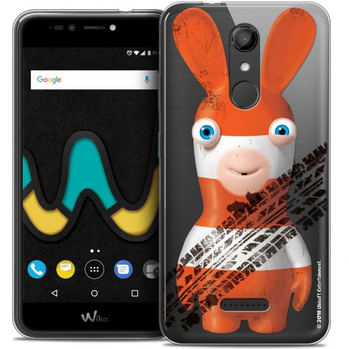 """Crystal Gel Wiko U Pulse (5.5"""") Case Lapins Crétins™ On the Road"""