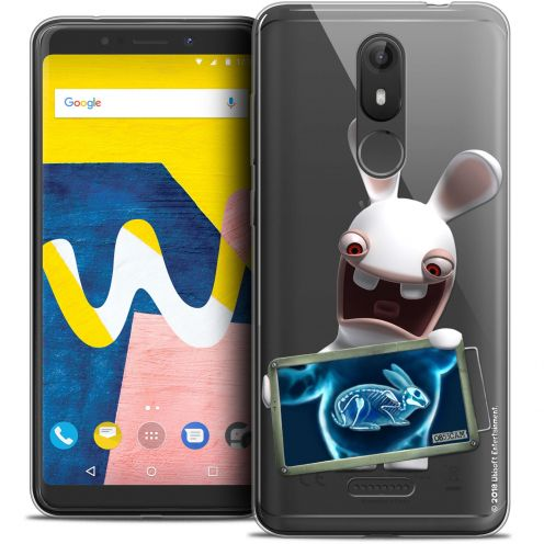 """Crystal Gel Wiko View LITE (5.45"""") Case Lapins Crétins™ X Ray Crétin"""