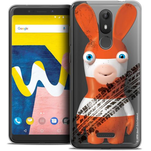 """Crystal Gel Wiko View LITE (5.45"""") Case Lapins Crétins™ On the Road"""