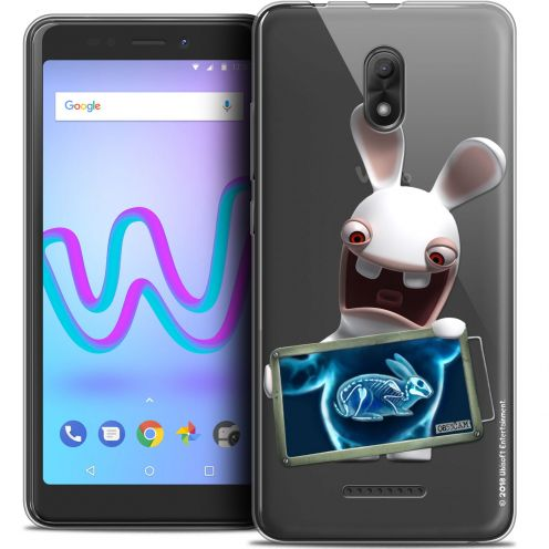 """Crystal Gel Wiko Jerry 3 (5.45"""") Case Lapins Crétins™ X Ray Crétin"""