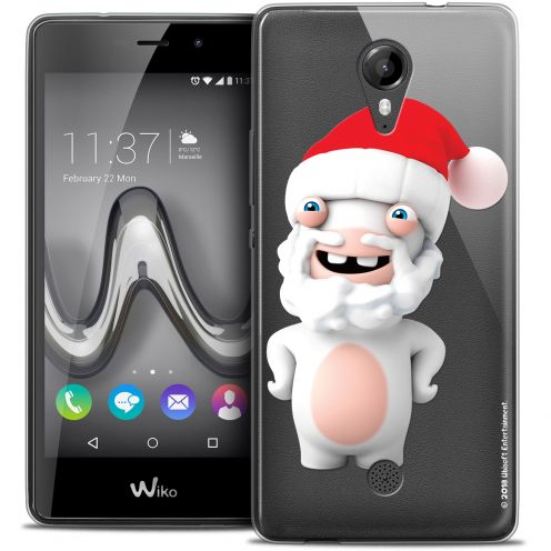 Crystal Gel Wiko Tommy Case Lapins Crétins™ Lapin Noël