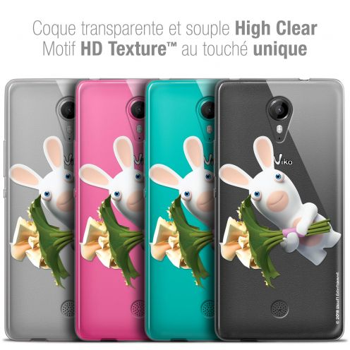 Crystal Gel Wiko Tommy Case Lapins Crétins™ Bouquet Crétin