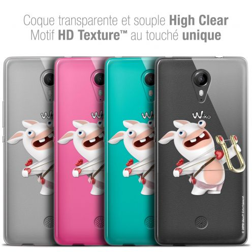 Crystal Gel Wiko Tommy Case Lapins Crétins™ Cupidon Crétin