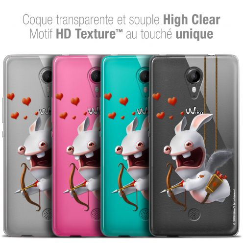 Crystal Gel Wiko Tommy Case Lapins Crétins™ Flying Cupidon