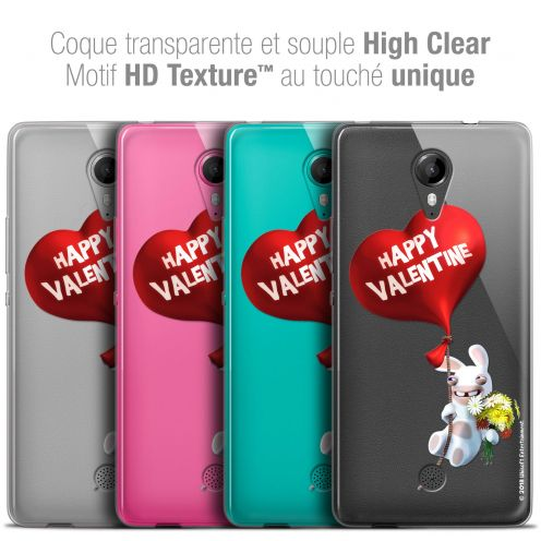 Crystal Gel Wiko Tommy Case Lapins Crétins™ Valentin Crétin