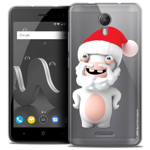 """Crystal Gel Wiko Jerry 2 (5"""") Case Lapins Crétins™ Lapin Noël"""