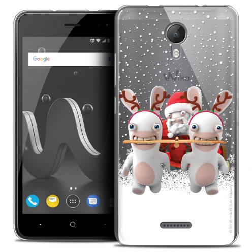 """Crystal Gel Wiko Jerry 2 (5"""") Case Lapins Crétins™ Lapin Traineau"""