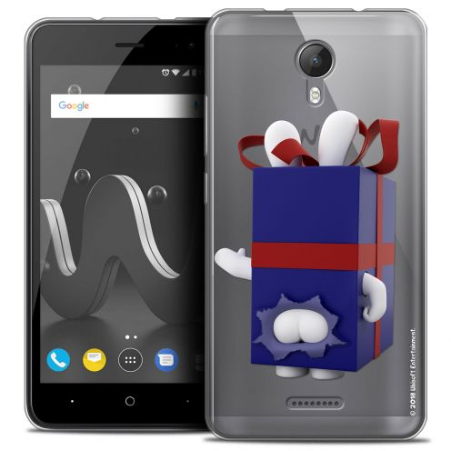 "Crystal Gel Wiko Jerry 2 (5"") Case Lapins Crétins™ Lapin Surprise Bleu"