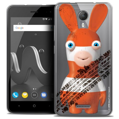 """Crystal Gel Wiko Jerry 2 (5"""") Case Lapins Crétins™ On the Road"""