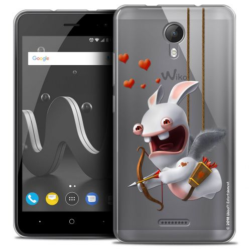 """Crystal Gel Wiko Jerry 2 (5"""") Case Lapins Crétins™ Flying Cupidon"""