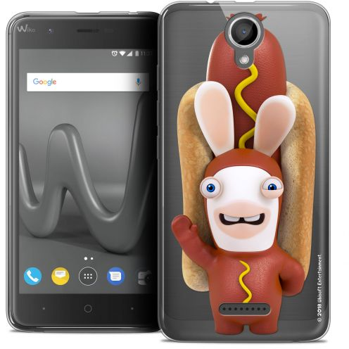 "Crystal Gel Wiko Harry (5"") Case Lapins Crétins™ Hot Dog Crétin"