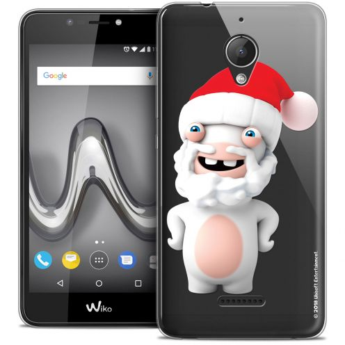 """Crystal Gel Wiko Tommy 2 PLUS (5.5"""") Case Lapins Crétins™ Lapin Noël"""