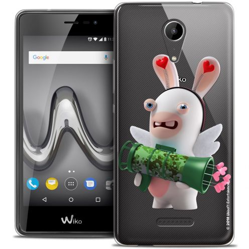 """Crystal Gel Wiko Tommy 2 (5"""") Case Lapins Crétins™ Cupidon Soldat"""