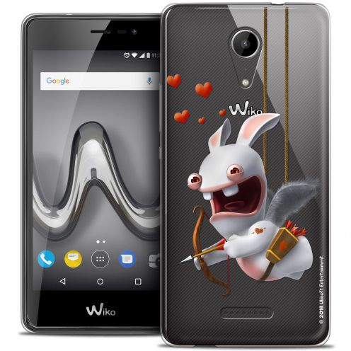 "Crystal Gel Wiko Tommy 2 (5"") Case Lapins Crétins™ Flying Cupidon"