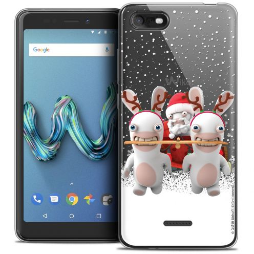 """Crystal Gel Wiko Tommy 3 (5.45"""") Case Lapins Crétins™ Lapin Traineau"""