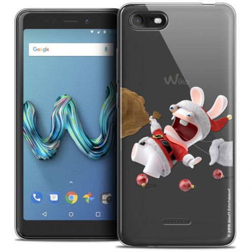 "Crystal Gel Wiko Tommy 3 (5.45"") Case Lapins Crétins™ Père Lapin Crétin"
