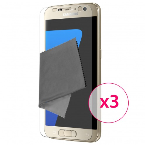 Clubcase ® Ultra Clear HQ screen protector for Galaxy S6 3-Pack