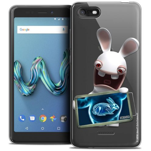 """Crystal Gel Wiko Tommy 3 (5.45"""") Case Lapins Crétins™ X Ray Crétin"""