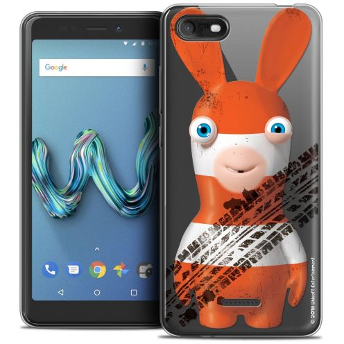 "Crystal Gel Wiko Tommy 3 (5.45"") Case Lapins Crétins™ On the Road"