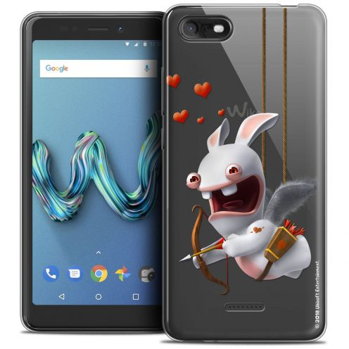 """Crystal Gel Wiko Tommy 3 (5.45"""") Case Lapins Crétins™ Flying Cupidon"""