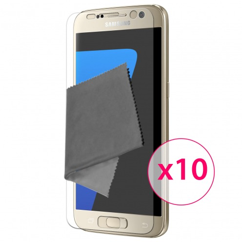 Clubcase ® Ultra Clear HQ screen protector for Galaxy S6 10-Pack